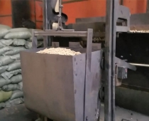 辽宁丹东市稻壳颗粒使用现场(视频)