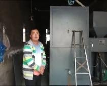 扶余市某学校使用1.5吨生物质热水炉