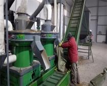 吉林延边市某生物质颗粒生产线