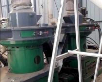 吉林四平秸秆颗粒生产现场