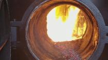 某木材加工厂使用500KG蒸汽发生器