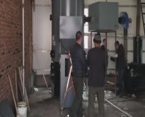 抚顺市某板材厂使用500kg蒸汽发生器