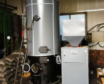 某地板厂使用生物质锅炉现场