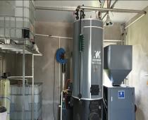 某酒厂300公斤生物质蒸汽发生器安装现场